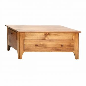 Honey Pine Coffee Table Pine 16 3/4H x 38 1/4W121014grid