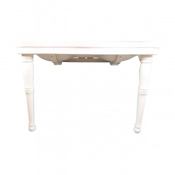 <PRE>White Wall Mount Bathroom Console Double Basin Sink with Spindle Leg Support </PRE>zoom3