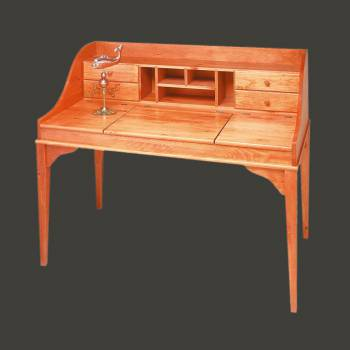 <PRE>Shaker Unfinished Solid Pine Writing Desk unfinished pine Machined</PRE>