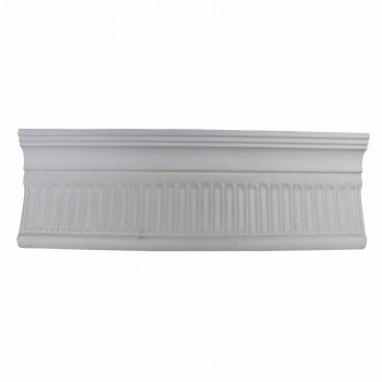 Ornate Cornice White Urethane  82 7/8