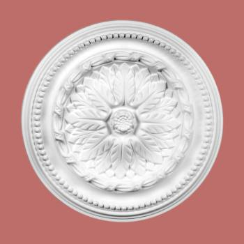 Ceiling Medallions - Ceiling Medallion Rose de Chou 15 3/4 in. dia.  Without Center Cut by the Renovator's Supply