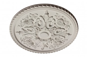 Ceiling Medallion White Urethane Primed 32 1/4