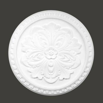 <PRE>Ceiling Medallion White Urethane Primed 16 7/8inch Diameter </PRE>zoom2