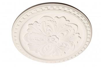 Ceiling Medallion White Urethane Primed 16 7/8