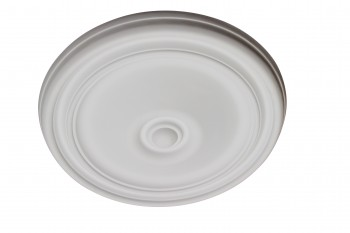 Ceiling Medallion White Urethane 11 7/8