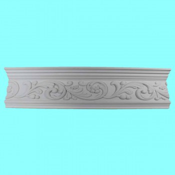 <PRE>Cornice White Urethane Sample of 12369 24inch </PRE>zoom3