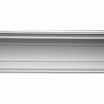 Cornice White Urethane  73 38 L  H Provence Crown Molding Corners Contemporary Crown Molding Polyurethane Cornice Molding
