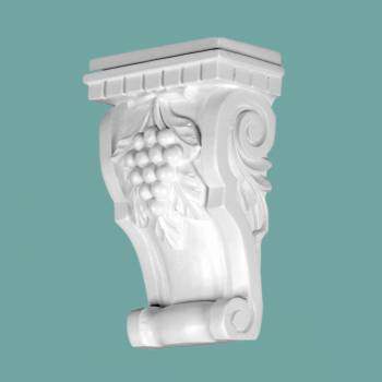 <PRE>Victorian Wall Fireplace Corbel White Urethane Vintage </PRE>zoom2