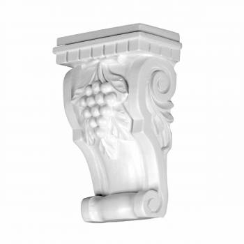 White Urethane Living Room Fireplace Wall Corbel 12390grid