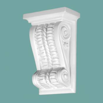 Victorian Wall Fireplace Corbel White Urethane Vintage Corbel Corbels Urethane Corbel