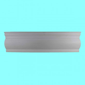 <PRE>Cornice White Urethane 5inch H Dunston Simple </PRE>zoom2