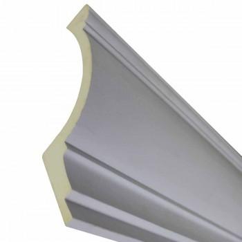 Cornice White Urethane  76 12 L Dunston Simple Contemporary Cornice Molding Crown Molding Corners Urethane Cornice Molding