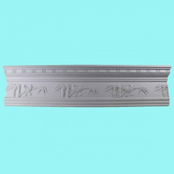 <PRE>Cornice White Urethane 5 1/4inch H Tropicana Ornate </PRE>zoom2