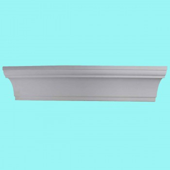 <PRE>Cornice White Urethane 4 3/4inch H Merton Simple </PRE>zoom2