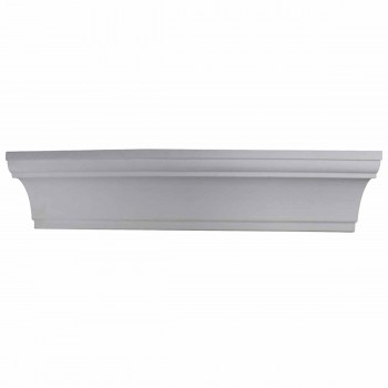 <PRE>Cornice White Urethane 4 3/4inch H Merton Simple </PRE>zoom1