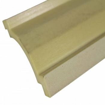 Cornice White Urethane  94 L  Jackson Simple Decorative White Cornice Molding White Cornice Molding Simple Ceiling Crown Molding