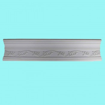 Cornice White Urethane  96 18 L  Whitehead Ornate Ornate Ceiling Cornice Molding Decorative White Crown Molding Classy Crown Molding