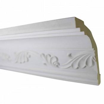 Cornice White Urethane  96 18 L  Whitehead Ornate Ornate Ceiling Cornice Molding Decorative White Crown Molding Classy Crown Molding