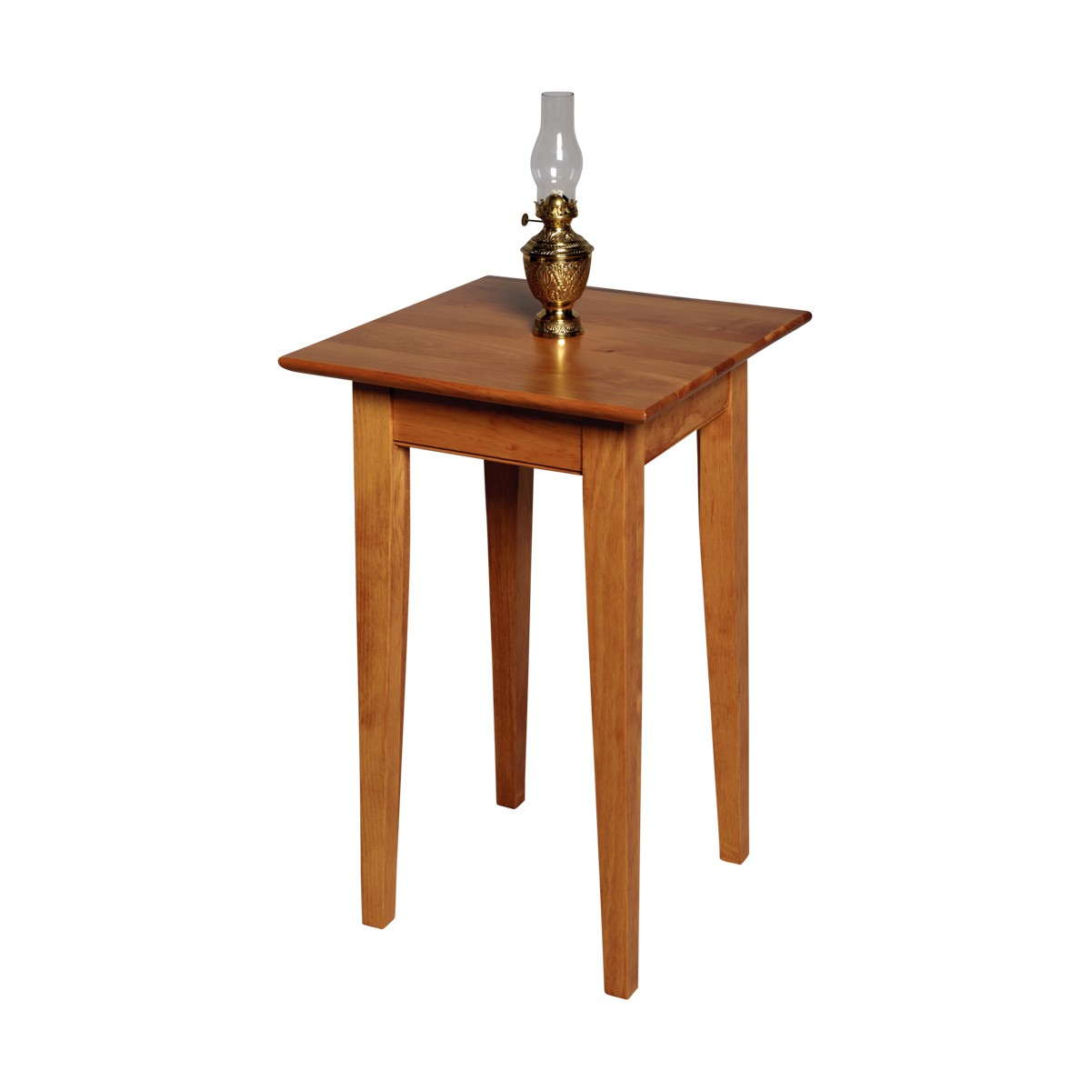Lamp Table Heirloom Pine Canterbury End Table Living Room 25 Inch Height Light Table Lamp Table End Table Living Room