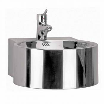 Deluxe Stainless Steel Vessel Sink Double Layer Combo 12444grid