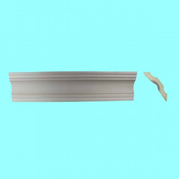 <PRE>Cornice White Urethane Sample of 11457 24inch Long </PRE>zoom2