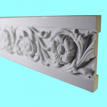 <PRE>Cornice White Urethane Sample of 10495 19inch Long </PRE>zoom2