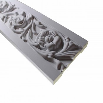 <PRE>Cornice White Urethane Sample of 10495 19inch Long </PRE>zoom4