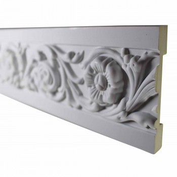 <PRE>Cornice White Urethane Sample of 10495 19inch Long </PRE>zoom1