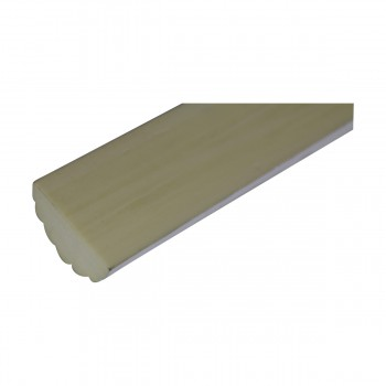 <PRE>Cornice White Urethane Sample of 10500 19.25inch Long </PRE>zoom6
