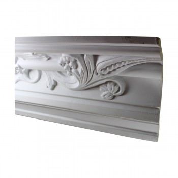 <PRE>Cornice White Urethane Sample of 10503 23.25inch Long </PRE>zoom3