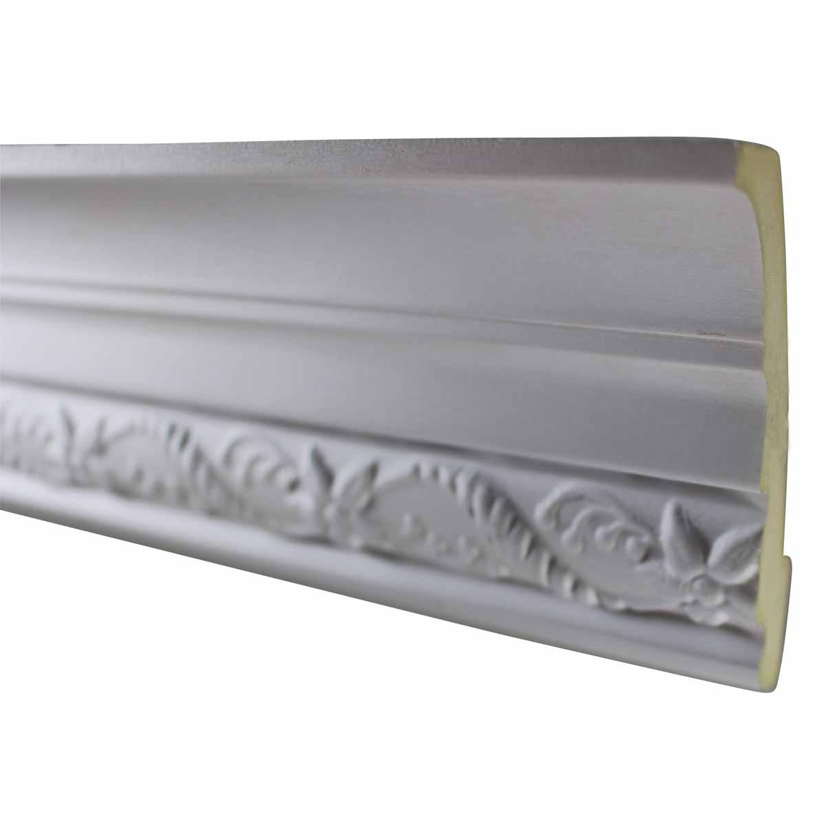 Cornice White Urethane Sample of 10508 23.25 Long Cornice Cornice Moulding Cornice Molding