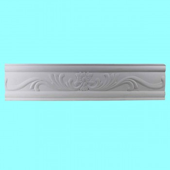 <PRE>Cornice White Urethane Sample of 10511 19.75inch Long </PRE>zoom2