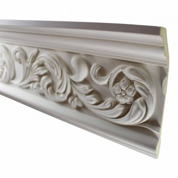 Cornice White Urethane Sample of 10976 23.5 Long Cornice Cornice Moulding Cornice Molding