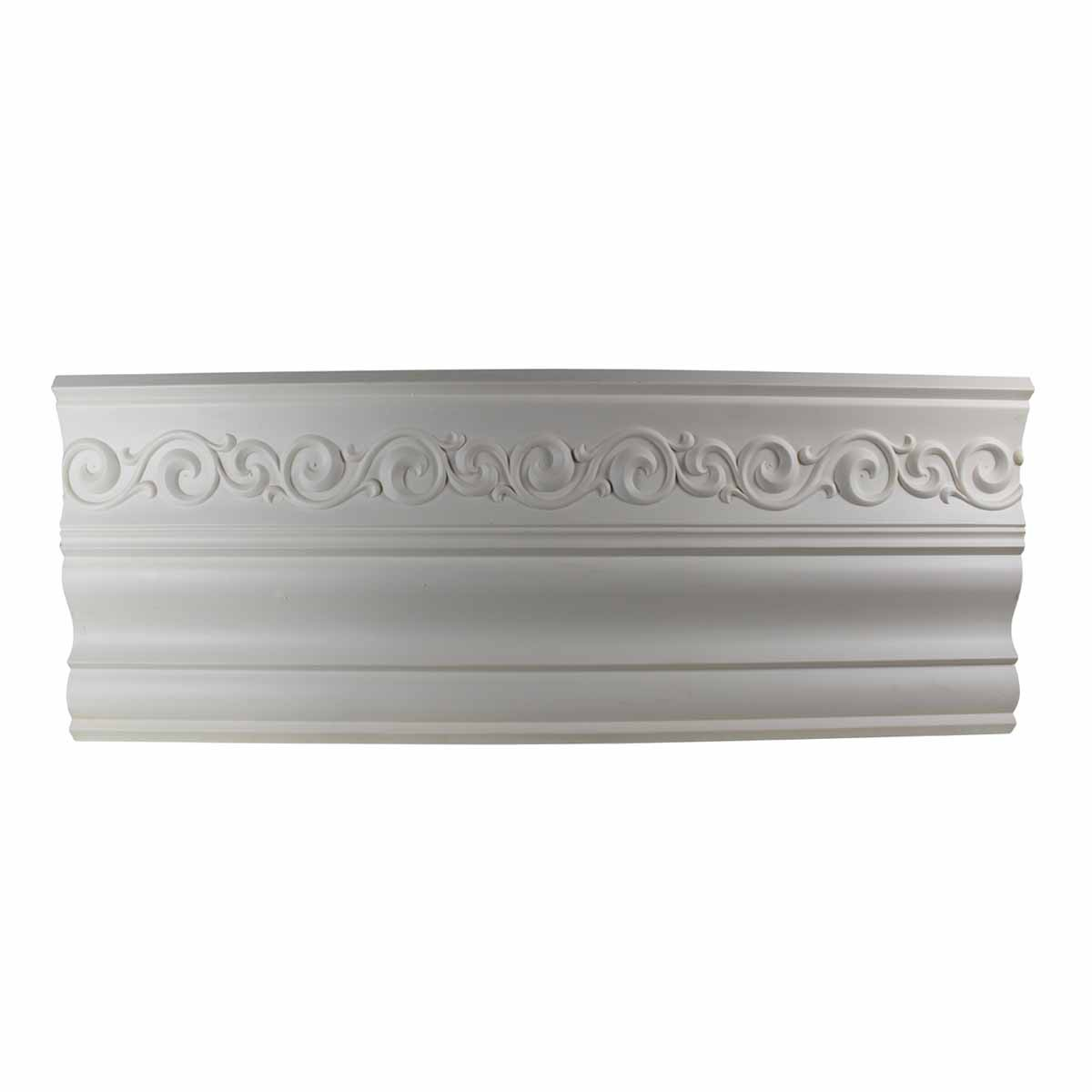 Cornice White Urethane Sample of 10978 23.5 Long Cornice Cornice Moulding Cornice Molding