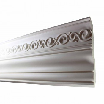 <PRE>Cornice White Urethane Sample of 10978 23.5inch Long </PRE>zoom4