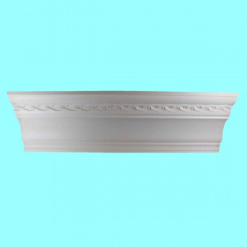 <PRE>Cornice White Urethane Sample of 10980 23.5inch Long </PRE>zoom2