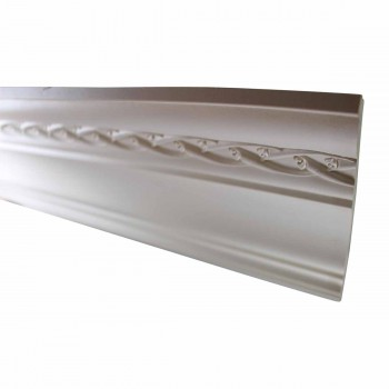 <PRE>Cornice White Urethane Sample of 10980 23.5inch Long </PRE>zoom3