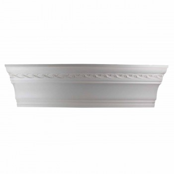 Cornice White Urethane Sample of 10980 23.5