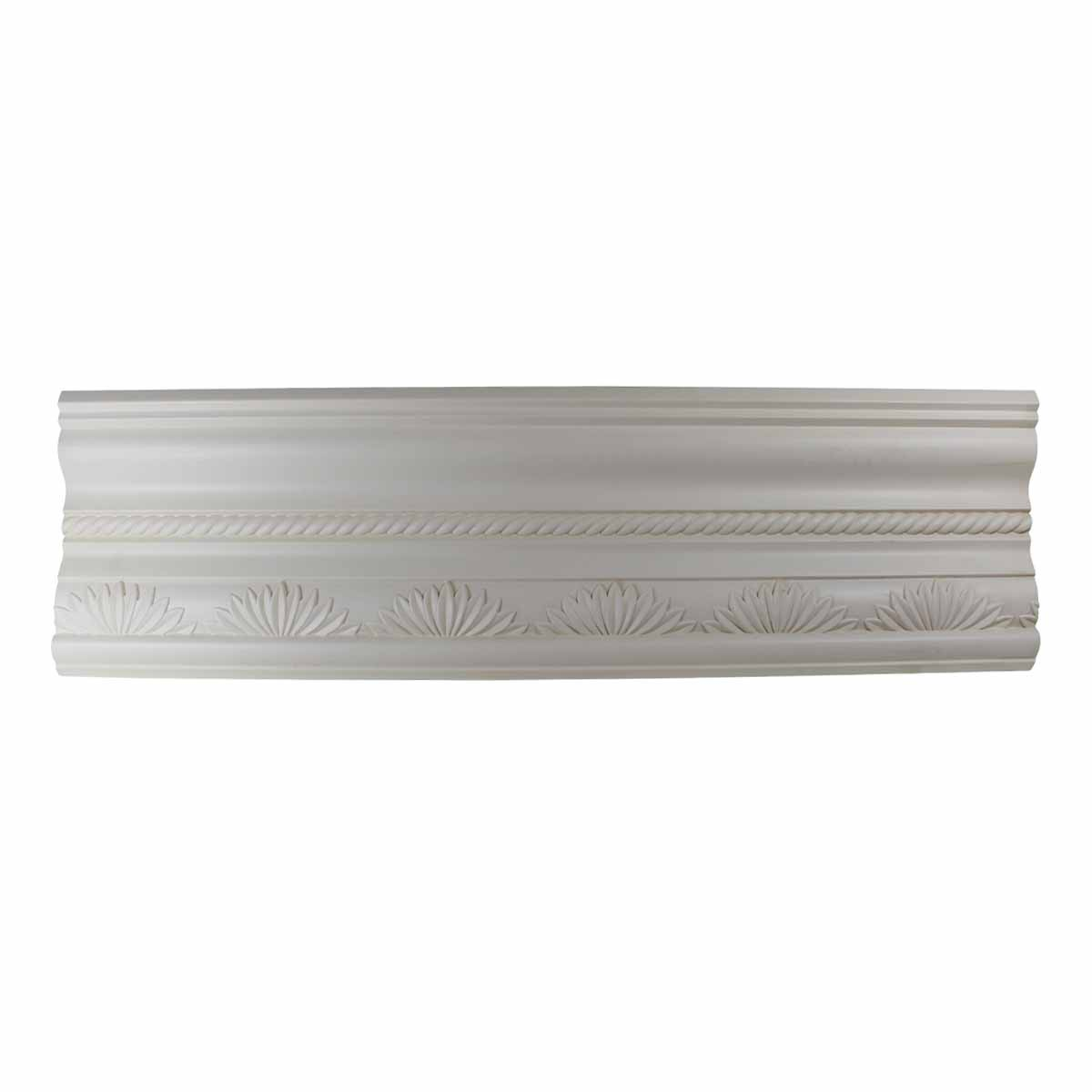 Cornice White Urethane Sample of 10985 23.5 Long Cornice Cornice Moulding Cornice Molding