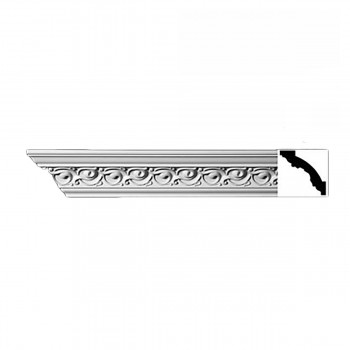 Cornice White Urethane Sample of 10989 23.5 Long Cornice Cornice Moulding Cornice Molding