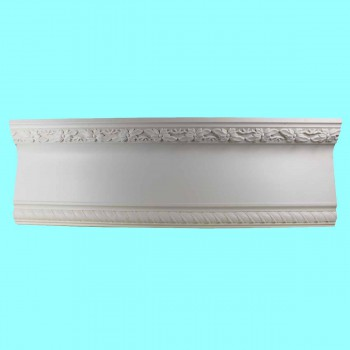 <PRE>Cornice White Urethane Sample of 10990 23.5&quot; Long </PRE>