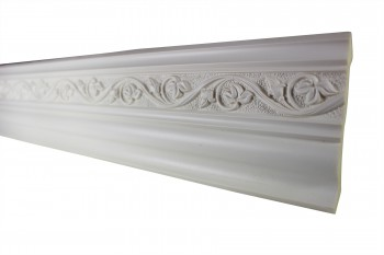 Cornice White Urethane Sample of 11168 24 Long Cornice Cornice Moulding Cornice Molding