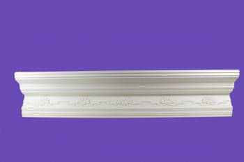 <PRE>Cornice White Urethane Sample of 11169 23.5inch Long </PRE>zoom2
