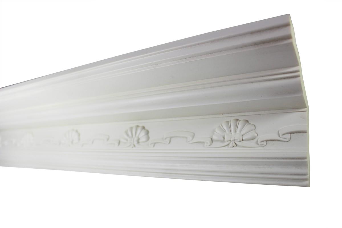 Cornice White Urethane Sample of 11169 23.5 Long Cornice Cornice Moulding Cornice Molding