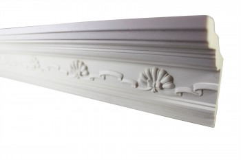 <PRE>Cornice White Urethane Sample of 11169 23.5inch Long </PRE>zoom3