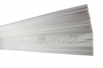 <PRE>Cornice White Urethane Sample of 11169 23.5inch Long </PRE>zoom4