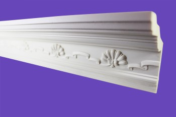 <PRE>Cornice White Urethane Sample of 11169 23.5inch Long </PRE>zoom7