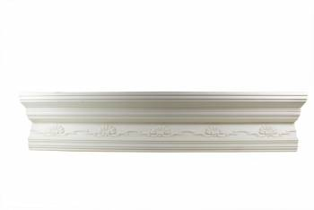 <PRE>Cornice White Urethane Sample of 11169 23.5inch Long </PRE>zoom1