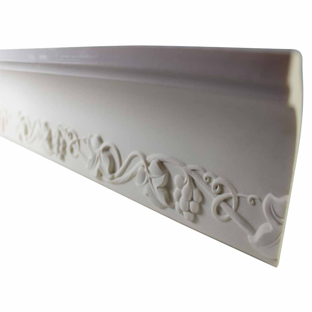 Cornice White Urethane Sample of 11175 23.5 Long Cornice Cornice Moulding Cornice Molding