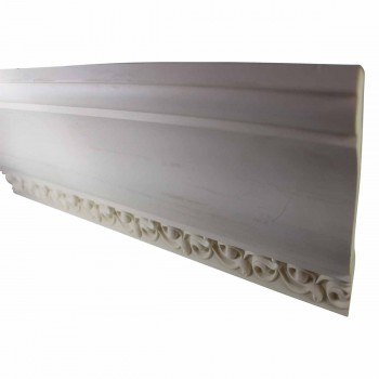<PRE>Cornice White Urethane Sample of 11179 23.5inch Long </PRE>zoom3